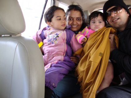 Manali Trip when Love was a year old.