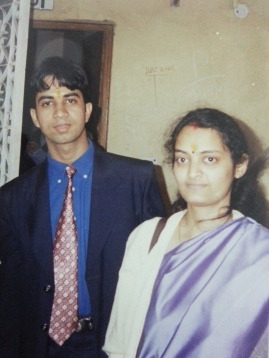 My first visit to my parents place after wedding...22nd December, 2002