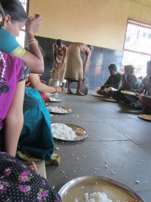 Annadana Prasadam being served