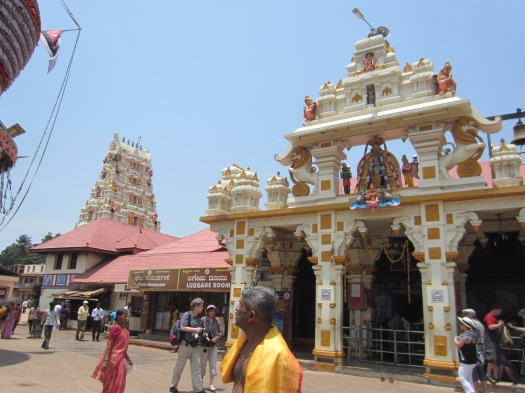 Main Entrance and the temple building